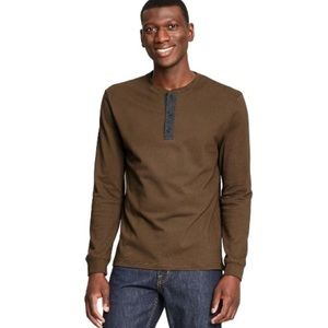 3:1 Phillip Lim Long Sleeve Henley Tee